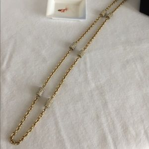 🌈✨💥 classic long J. Crew gold necklace💥✨🌈